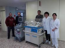 La ONG ACAPS rep material mèdic a l'Hospital Santa Caterina