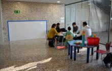Nou espai de l'hospital de dia pediàtric de l'Hospital Santa Caterina