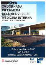 XV Jornada Infermera dels Serveis de Medicina Interna dels Hospitals de Girona