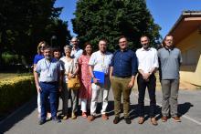 Comitiva d'experts de l'OMS en la seva visita a l'IAS per conèixer el model de salut mental de comarques gironines