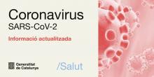 Cartell informatiu del coronavirus que diu informació a la ciutadania