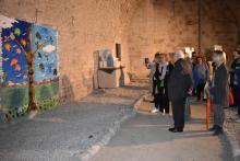 """La Catedral de Girona obre els soterranis de les sales capitulars per acollir l'exposició """"Vibracions"""" de l'associació Família i Salut Mental"""