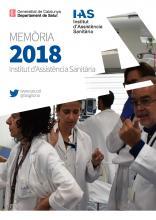 Portada de la memòria de l'IAS 2018